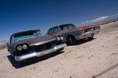 Vecchie automobili Fotografia Stock
