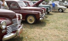 Vecchie automobili Immagini Stock Libere da Diritti