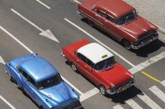 Vecchie automobili americane Immagine Stock Libera da Diritti