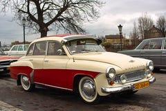 Vecchie automobili dell'annata. Fotografia Stock