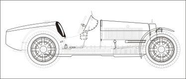Vecchie automobili sportive Immagini Stock Libere da Diritti