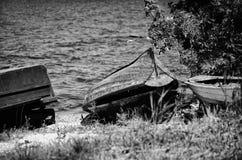 Vecchie barche Fotografie Stock Libere da Diritti