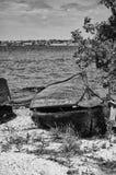 Vecchie barche Immagini Stock