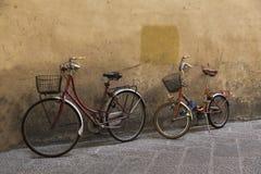 Vecchie bici fiorentine Fotografie Stock Libere da Diritti