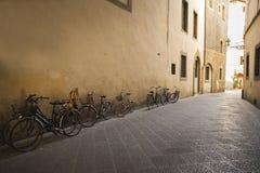 Vecchie bici fiorentine Immagini Stock