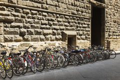 Vecchie bici fiorentine Fotografia Stock Libera da Diritti