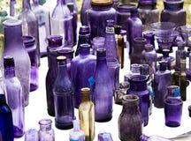2 vecchie bottiglie Immagini Stock Libere da Diritti