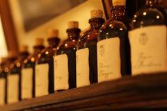 Vecchie bottiglie di fragranza Fotografie Stock