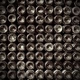 Vecchie bottiglie di vino Fotografie Stock Libere da Diritti
