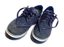 Vecchie calzature di sport Fotografia Stock Libera da Diritti