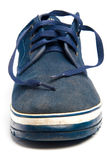 Vecchie calzature di sport Fotografie Stock Libere da Diritti