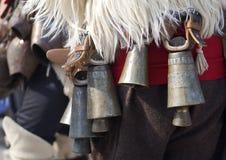 Vecchie campane Fotografia Stock