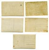 Vecchie cartoline di 1900s Fotografie Stock