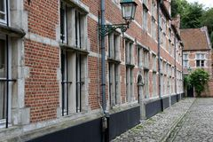 Vecchie case Fotografia Stock Libera da Diritti