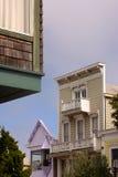 Vecchie case Immagine Stock Libera da Diritti