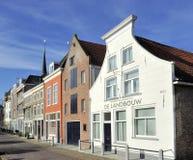 Vecchie case a Delft immagine stock libera da diritti