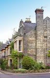 Vecchie case inglesi immagine stock