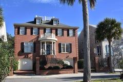 Vecchie case sceniche in Charleston South Carolina fotografie stock libere da diritti