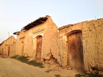 Vecchie case in tarata Fotografia Stock Libera da Diritti