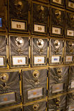 Vecchie cassette delle lettere d'annata di modo Fotografie Stock