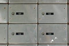 Vecchie cassette postali Immagini Stock