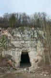 Vecchie cave di pietra abbandonate Fotografia Stock