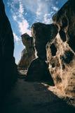 vecchie caverne fotografia stock