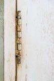 Vecchie cerniere arrugginite Fotografie Stock Libere da Diritti