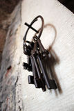 Vecchie chiavi 3 Fotografia Stock