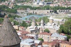 Vecchie chiese di Tbilisi Fotografia Stock