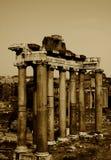 Vecchie colonne Immagini Stock