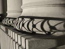 Vecchie colonne Fotografie Stock