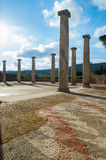 Vecchie colonne romane Fotografia Stock