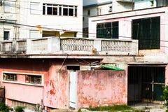 Vecchie costruzioni Avana Fotografia Stock