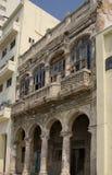 Vecchie costruzioni a Avana, Cuba Immagine Stock