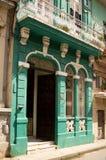 Vecchie costruzioni a Avana, Cuba Immagini Stock
