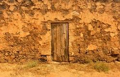 Vecchie costruzioni coloniali Casa de los Coroneles a La Oliva su Fu Immagini Stock