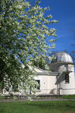Vecchie costruzioni dell'osservatorio dell'università di Vilnius Immagini Stock Libere da Diritti