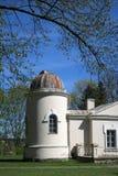 Vecchie costruzioni dell'osservatorio dell'università di Vilnius Fotografia Stock Libera da Diritti