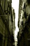 Vecchie costruzioni della città Fotografie Stock Libere da Diritti