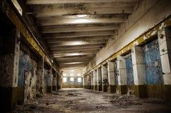 Vecchie costruzioni della fabbrica Immagini Stock