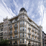 Vecchie costruzioni di Bilbao Immagine Stock Libera da Diritti
