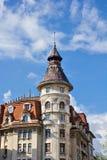 Vecchie costruzioni di Bucarest Immagini Stock Libere da Diritti