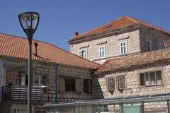 Vecchie costruzioni di pietra Fotografie Stock