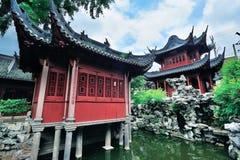 Vecchie costruzioni di Schang-Hai Immagini Stock Libere da Diritti