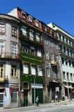 Vecchie costruzioni a Oporto, Portogallo Immagine Stock Libera da Diritti