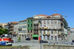 Vecchie costruzioni a Oporto, Portogallo Immagini Stock