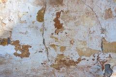 Vecchie crepe della parete Fotografia Stock Libera da Diritti
