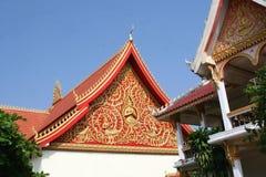 Vecchie decorazioni in tempio Wat Sisaket, Vientiane Immagini Stock