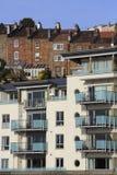 Vecchie e nuove case Immagine Stock Libera da Diritti